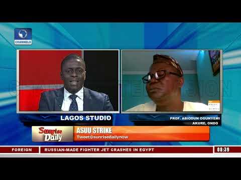 Abiodun Ogunyemi, Linus Ukamba, Speaks On ASUU Nationwide Strike And Minimum Wage Demand Pt.2