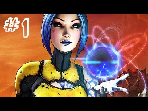 Borderlands 2 - Gameplay Walkthrough - Part 1 - Intro PS3 [HD]