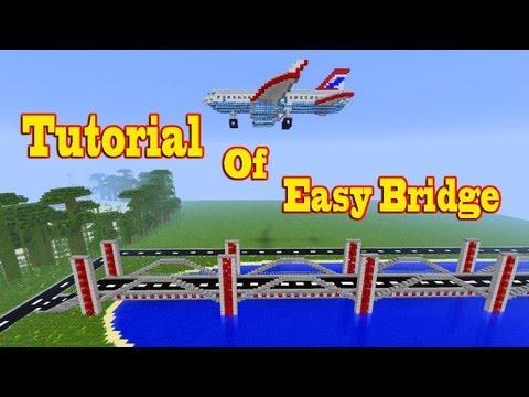 Minecraft Tutorial Of  Easy & Cool Bridge