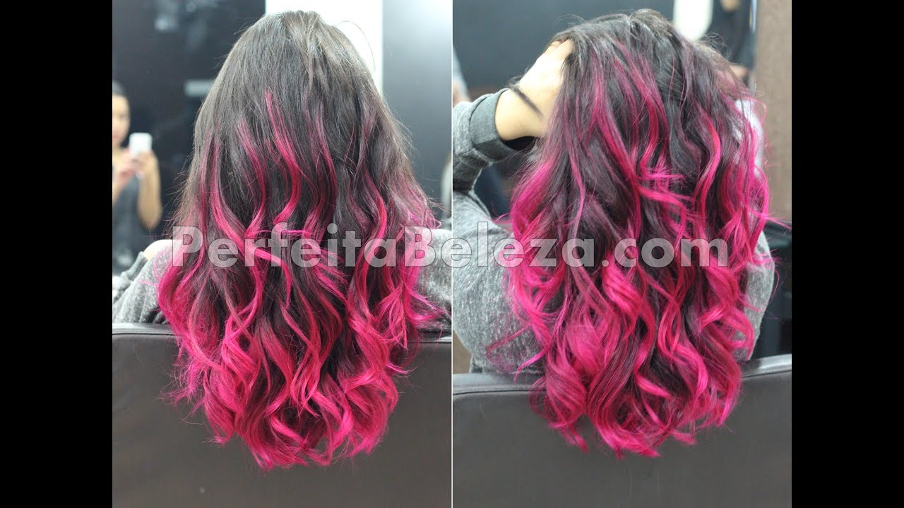 Ombre Hair Rosa Youtube