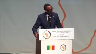 4th edition of the International Forum on Peace and Security in Africa | Dakar, 13 November 2017