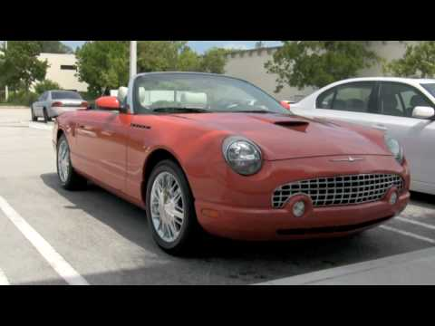 2003 Coral Ford Thunderbird 007 Limited Edition A2494