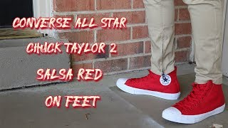 Chuck Taylor 2 All Star High Salsa Red