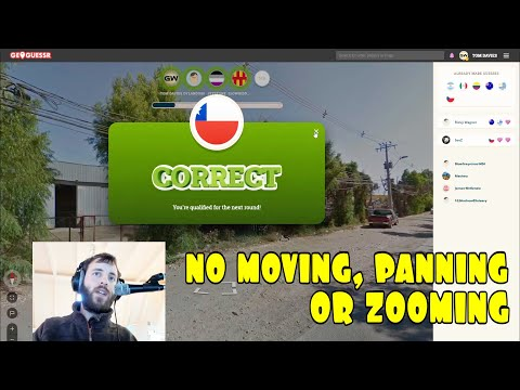 Geoguessr Battle Royale #4 - Attempting to win a game without Moving, Panning or Zooming..