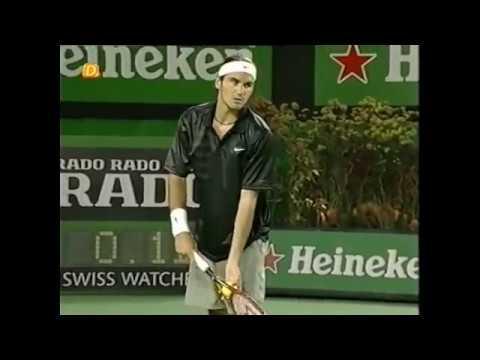 AO 2002 R4 - Federer vs Haas (Part 1)