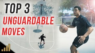 Top 3 UNGUARDABLE 1 On 1 Moves to Break Ankles!!! (Simple Basketball Moves)