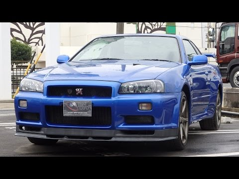 Skyline GTR R34 V Spec II Nur for sale in Japan at JDM EXPO (2957, s7949)