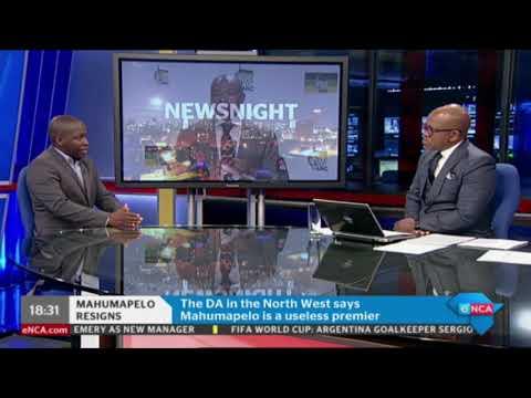 Supra Mahumapelo on early retirement