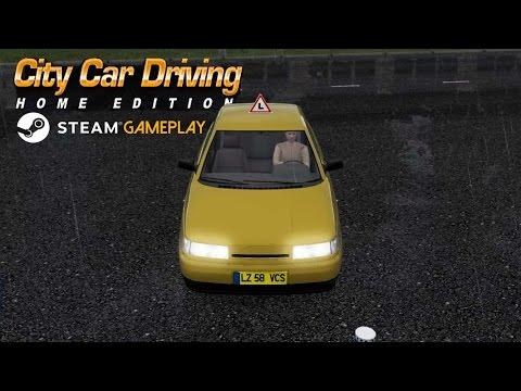City Car Driving Steam Version Gameplay (PC HD)