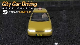 City Car Driving Steam Version Gameplay (PC HD)