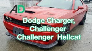 Kupujemy muscle cara na COPART - Dodge Challenger/Charger oraz licytujemy HELLCATA 717 KM!