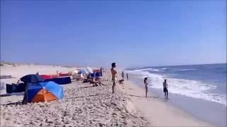 Um pouco da Praia da Costa Nova Portugal