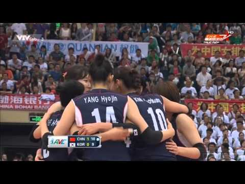 [HD]FINAL CHAMPIONSHIP:CHINA VS SOUTH KOREA:ASIAN WOMEN VOLLEYBALL CHAMPIONSHIP 2015