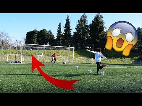 FOOTBALL PENALTY CHALLENGE !