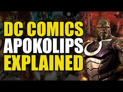 DC Comics: Apokolips/Home of Darkseid Explained