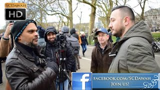 Free Will! Hashim vs Visitor l Speakers Corner l Hyde Park