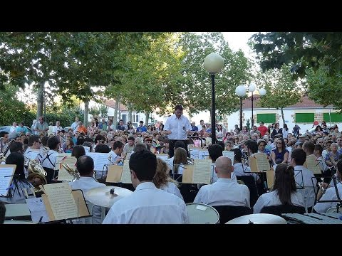 Homenaje al Dúo Dinámico por Banda de Música de Soria