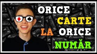 ORICE CARTE LA ORICE NUMĂR - TRUC EXPLICAT - A.C.A.A.N.