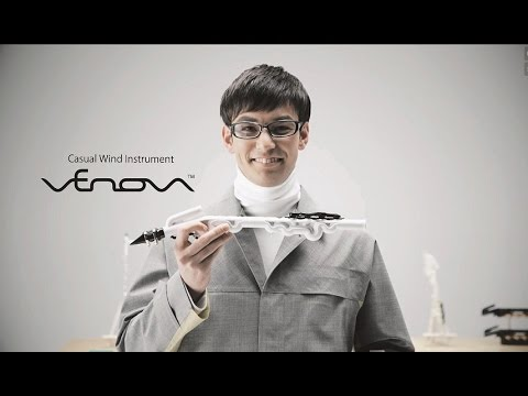 Venova - Yamaha's original branched pipe structure made wind instrument simple and compact!