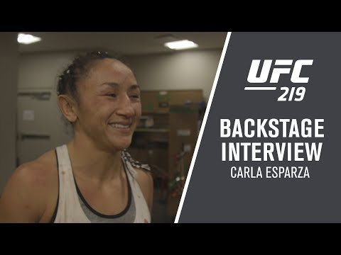 "UFC 219: Carla Esparza - ""I'll Fight Anyone They Put in Front of Me"""