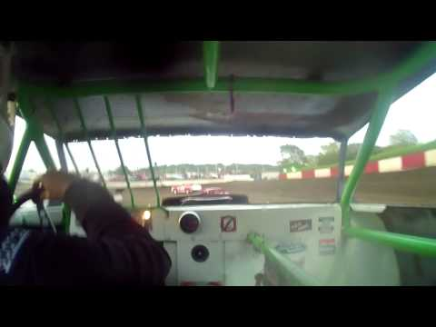 6.19.15---Peoria Speedway----Street Stock Feature---In car