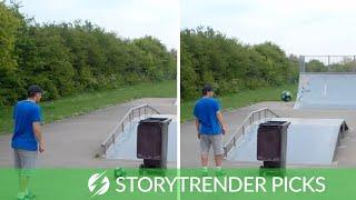 Guy Performs Incredible Football Trickshots