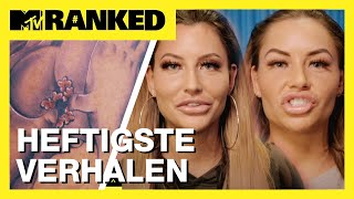 "Ex on the Beach ESMEE tegen SHARON: ""Zijn dit AAMBEIEN?!"" 