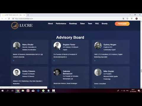#lucre #ico #ethereum #blockchain Lucre-algorithmic trading platform on blockchain