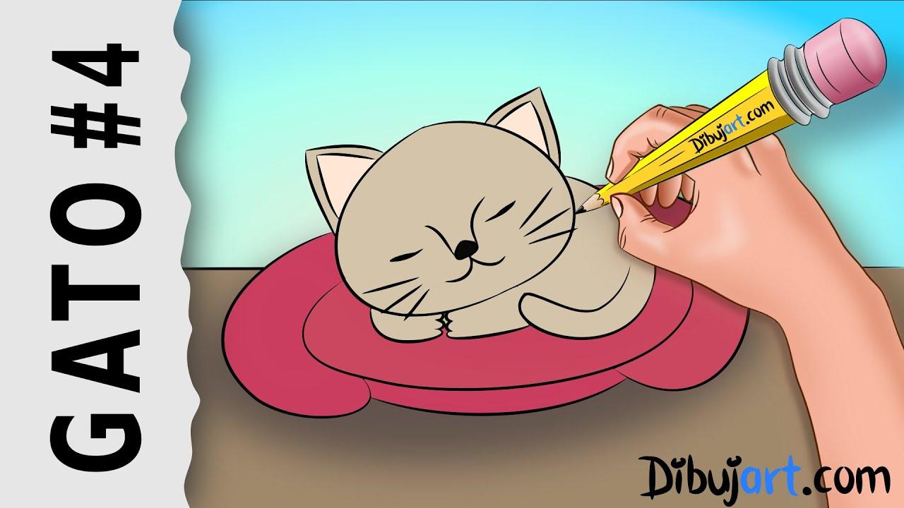 Excelente Lindo Gatito Bebé Para Colorear Ideas - Dibujos Para ...