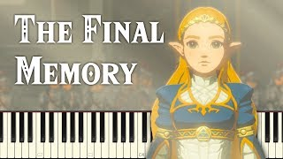 DLC Memory #5: The Champions' Ballad - Breath of the Wild [Synthesia] (Piano Tutorial)