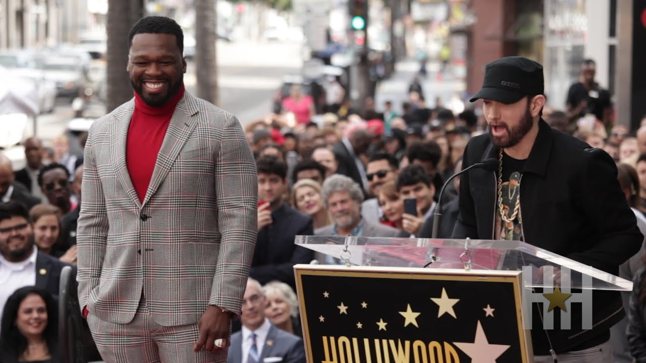 CONGRATULATIONS 50 Cent Is Rockin A Star On The Hollywood Walk Of Fame