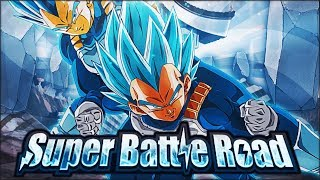 NO ITEM RUN! BLUE VEGETA DOMINATES! SUPER AGL SUPER BATTLE ROAD! (DBZ: Dokkan Battle)