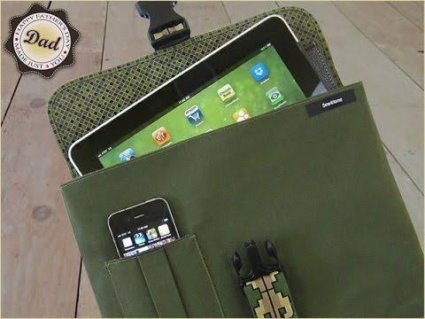 tablet h lle selber machen tablet h lle selber n hen youtube. Black Bedroom Furniture Sets. Home Design Ideas