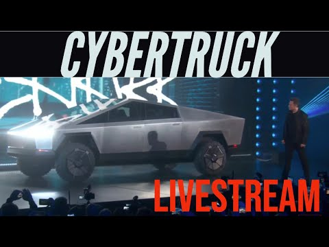 Tesla CyberTruck Unveil Livestream
