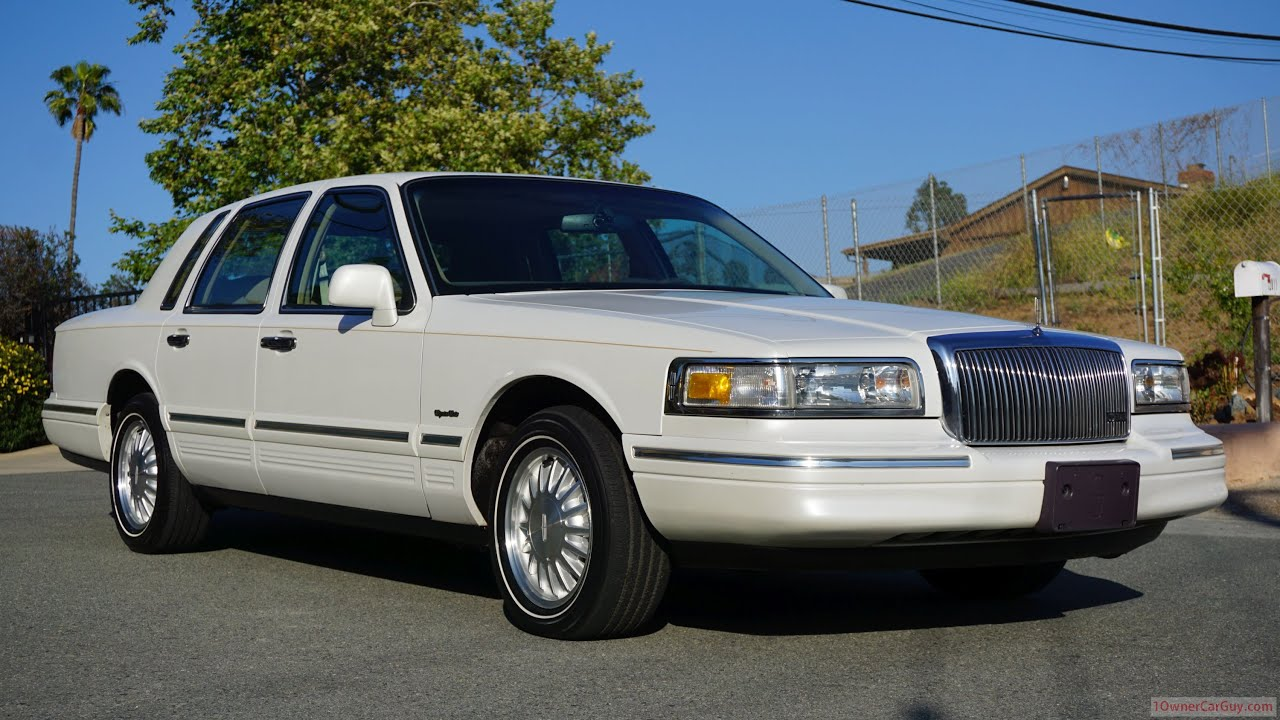 1997 Lincoln Town Car Cartier Exterior Video Review Youtube