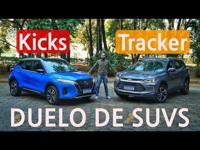 Duelo de SUVs: Chevrolet Tracker Premier ou Nissan Kicks Exclusive?