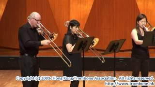 Repeat youtube video Liebst du um Schonheit, for 5 Trombones & Tuba