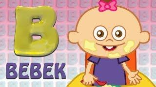 B Harfi - ABC Alfabe SEVİMLİ DOSTLAR Eğitici Çizgi Film Çocuk Şarkıları Videoları