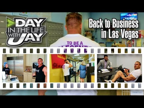 BACK IN BUSINESS IN LAS VEGAS-DAY IN THE LIFE OF JAY