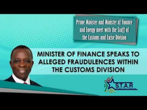 Prime Minister Keith Mitchell tours Ministry of Finance - Customs and Excise Division (part 3)