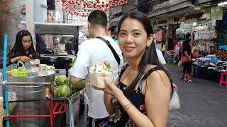 Du lịch Thái Lan tự túc -Ăn kem dừa Thái Lan chỉ 50 bath