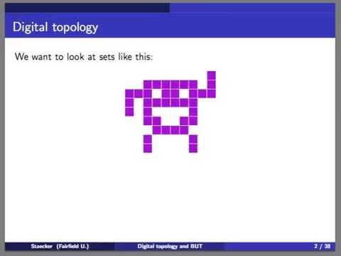 Some digital topology and a Borsuk-Ulam Theorem