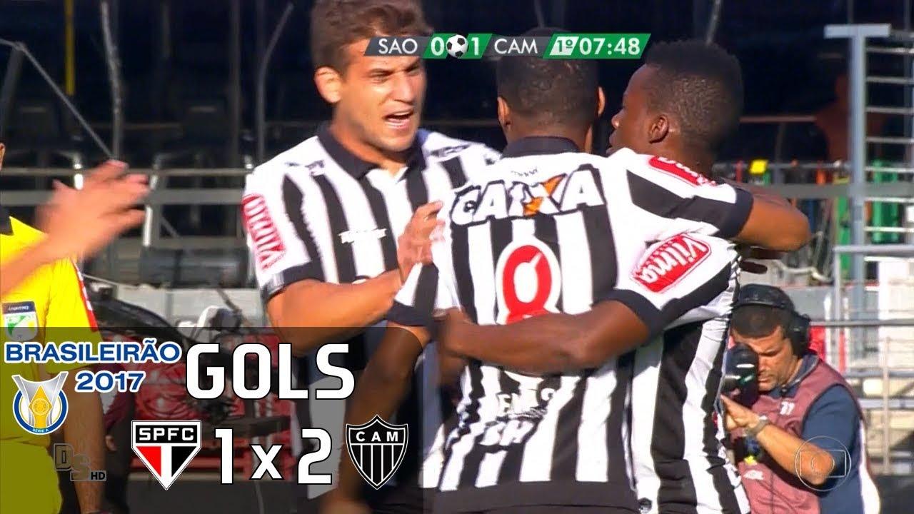 Gols - São Paulo 1 x 2 Atlético-MG - Brasileirão 2017 - Globo HD ... d99c1e7d58aaf