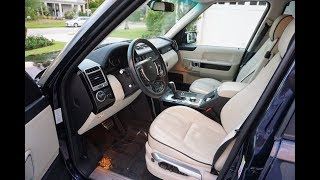 2008 Land Rover Range Rover Supercharged Review and Test Drive by Bill - Auto Europa Naples