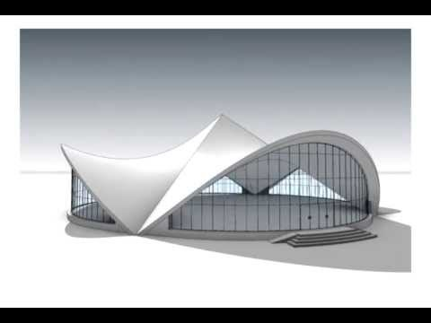 Revit Architecture 2014 Hyperbolic Paraboloid Youtube