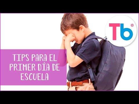 Tips para el primer día en el kinder | Consejos para que el día sea más fácil | Todobebé