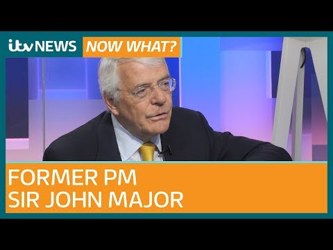 """John Major: 'Undoubtedly a case for second EU referendum"""" as he hits out at Brexit rebels 