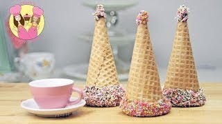 Princess Party Hat Tutorial - How To Make A Tasty Chocolate Treat For Your Lolly Or Candy Bar