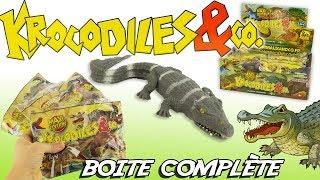 KROCODILES & CO Boite Complète Maxi Edition Altaya Jouets Toy Review Cocodrilos Juguetes streaming