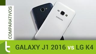 Comparativo: Galaxy J1 2016 vs LG K4 | Review do TudoCelular